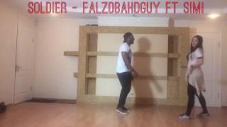 FALZ - SOLDIER - [Official Dance video] Ft SIMI | Dacypher