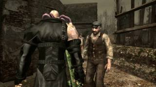Resident Evil 4 - Nemesis T-Type in Village