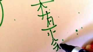 How to draw Traditional Sei He Ki and Hon Sha Ze Sho Nen Reiki Symbols