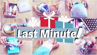 LAST MINUTE Geschenkideen - 10 Geschenkboxen /sets | ViktoriaSarina