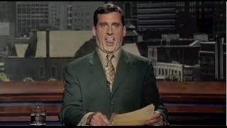 Bruce Almighty (1/9) Best Movie Quote - Evan Baxter Reads the News (2003)