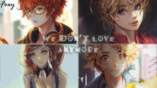 「Nightcore」→ We Don't Talk Anymore (Switching Vocals)