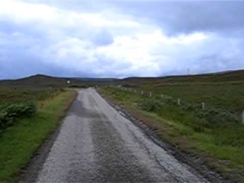 Cycling to Lairg