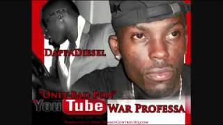 War Professa Ft DappaDiesel - Only Bad Pon Youtube {March 2011}