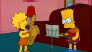 Simpsons - Otto man (Free bird Lynyrd Skynyrd)