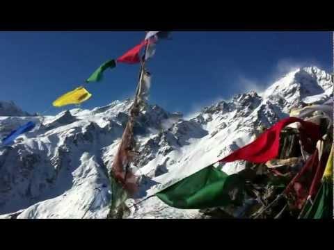 View from Kyangjin Li (4,550m), Langtang, Nepal