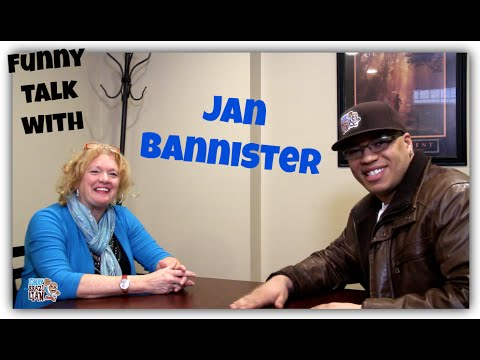 FUNNY TALK WITH JAN BANNISTER - The Funny Brazilian
