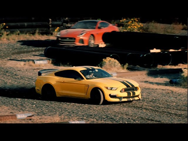 The Ken Block V8 Police Chase Challenge | Top Gear: Series 25