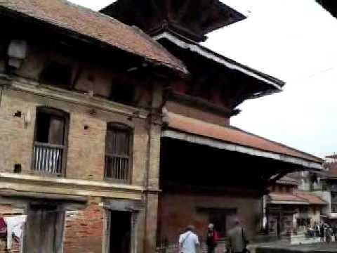 Durbar Square, Patan.wmv