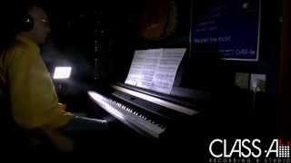 דודי תמיר LIVE באולפן - (סקסופון ופסנתר) Astor Piazzolla - Libertango
