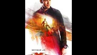 """Craque em cartaz: Neymar aparece em publicidade do filme """"Triplo X - Reativado"""""""