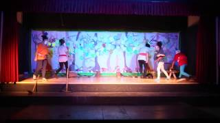 Blancanieves y los 7 enanitos: teatro-musical Colegio Gibraljaire (29-04-2014)