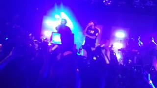 """Bas - """"Night Job"""" (feat. J. Cole) Too High To Riot Tour NYC 07.15.2016"""