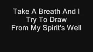 Evanescence: Breathe No More (Lyrics)
