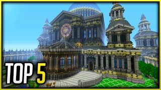 Minecraft Xbox One Top 5 Builds  of the Week #1