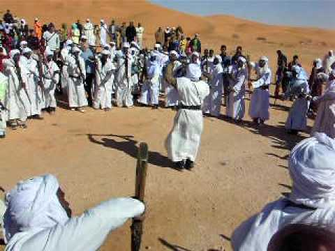 Baroud d'honneur dans le désert algérien à Kerzaz, Béchar – Marathon des dunes 2007