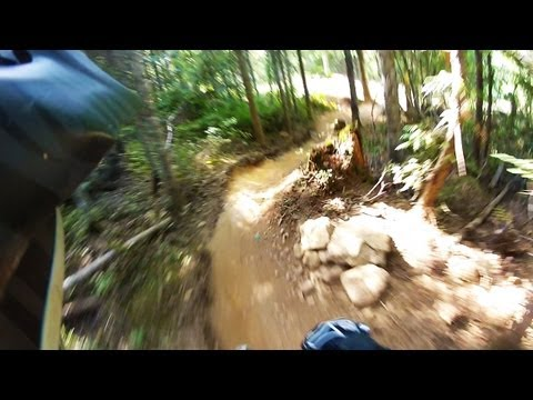GoPro HD Hero 2 - Whistler's Funnest Downhill 'Green' Trail! - DEL BOCCA VISTA