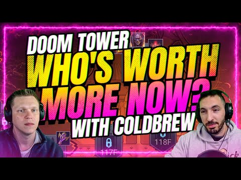Who has more value since DOOM TOWER release? | RAID Shadow Legends