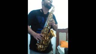 Meditação - Tom Jobim - alto sax