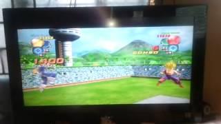Jugando  Dragón Ball Z... En ps3