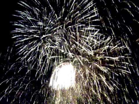 31.05.2009. Fireworks in Syeverodonetsk. Ukraine.