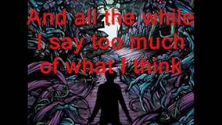 A Day to Remember - Another Song About the Weekend - With Lyrics