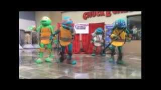 Show Tortugas ninja, de PROYECTA SHOW