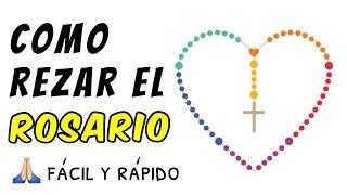 Como rezar el Santo Rosario - tutorial fácil paso a paso