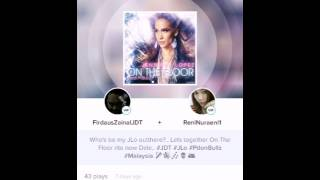 On The Floor - Jennifer Lopez feat. Pitbull (my smule cover) .. Smule ID : FirdausZainalJDT