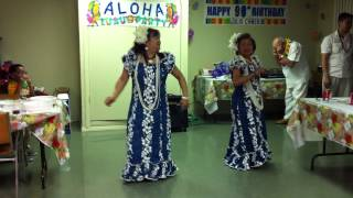 Lolo's 90th birthday Hawaiian Dance