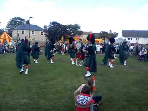 Peterborough Highland Pipe Band Whittlesey Festival 12th September 2011