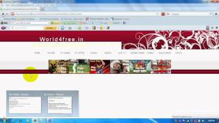 How to download free games, movies, mp3 songs, software,etc.avi width=