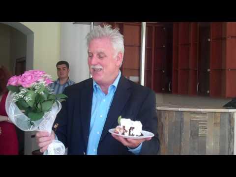 Miracle Evangelist Dr. Kevin McNulty's Reception in Cherkassy, Ukraine
