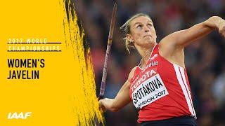 Women's Javelin Final   IAAF World Championships London 2017