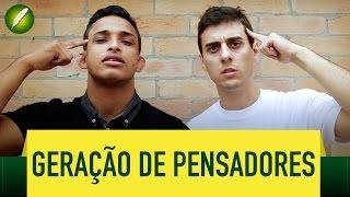 Geração de Pensadores (Poesia) - Fabio Brazza e Mc Garden