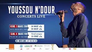 Concert: Youssou N'Dour en Live à Abidjan les 03 et 04 mars 2017