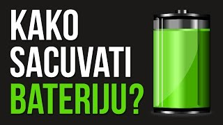 Android Tutorijal #5 - Kako sacuvati bateriju?