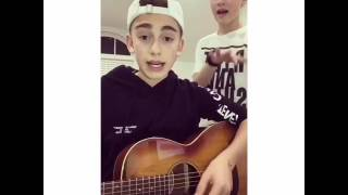 Mama said - Cover by Johnny Orlando ft Hayden Summerall