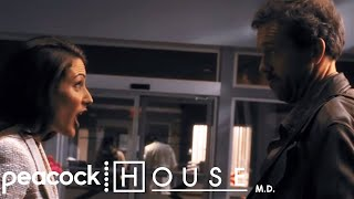 House And Cuddy's First Fight | House M.D.