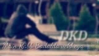 Qismat//WhatsApp status video//Lyrics video//DKD Studio ❤️