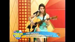 Josy Mendes (cover) -  Bicho de Sete cabeças na  TV Cidade Verde, programa Cidade Viva.