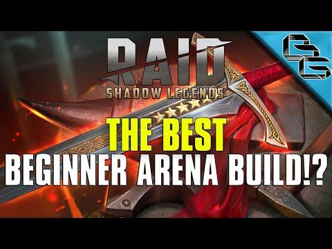 RAID: Shadow Legends | The BEST Beginner Arena Build!?! | F2P