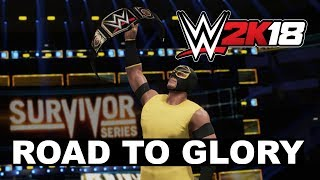 WWE 2K18: nuevo modo 'Road to Glory'