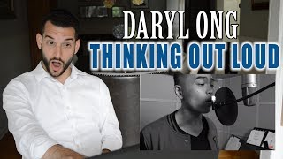 VOCAL COACH reacts to DARYL ONG singing THINKING OUT LOUD width=