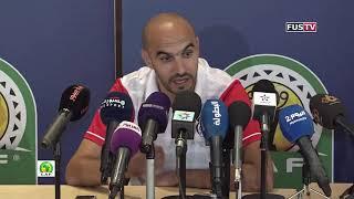 """Walid Regragui : """"Le FUS n'a rien à perdre face au TP Mazembe"""""""