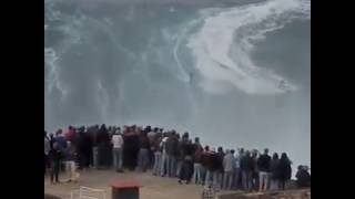 How to Super. Biggest Tsunami  Live on Camera video