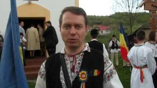 Romani pentru Romani. Declaratie de presa a dr. Mihai Tirnoveanu in satul covasnean Ojdula.