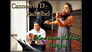 Cannon in D & Here Comes the Bride - Entradas al altar - Eleganza Violin & Guitar Ensemble