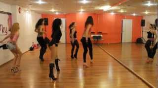 Delilah -- Go (ENiGMA Dubz Remix) [Dubstep] Choreography Katya Flash dance
