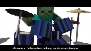 CREEPER VS ZOMBIE Rap Zarcort + Link De Descarga + Letra